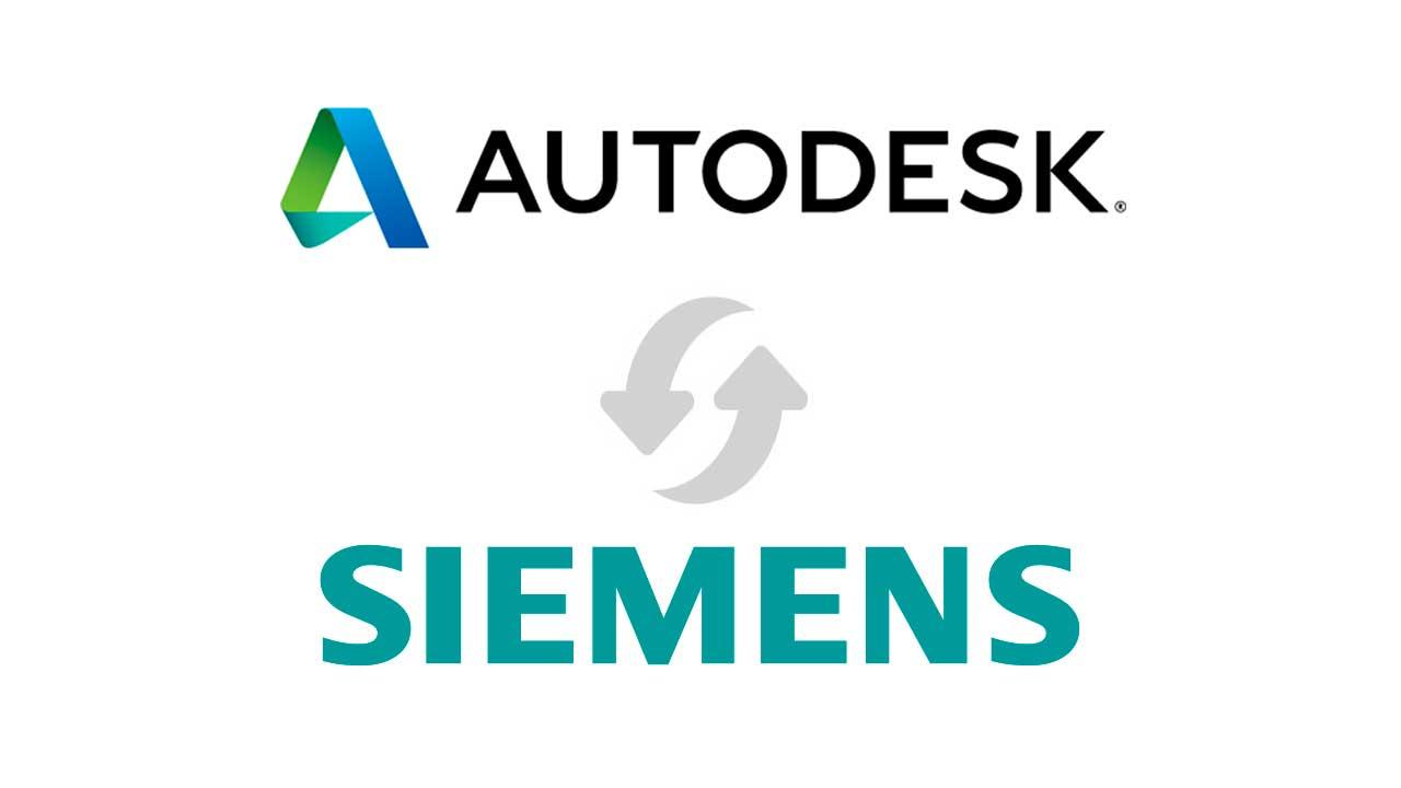 Autodesk y Siemens firman un acuerdo para aumentar la interoperabilidad de su software