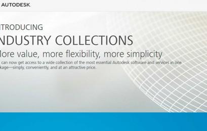 Suites de Autodesk cambiarán a Colecciones Industriales