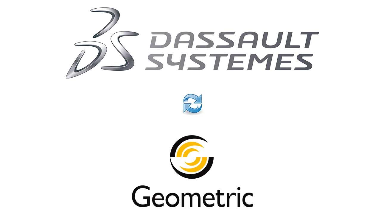 Dassault Systèmes adquiere plena propiedad de 3DPLM software, con su asociación con Geometric Ltd